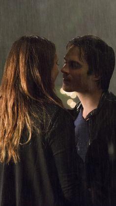 """Promise me this is forever"" - Elena  ""I promise"" - Damon"