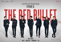 """OMG OMG OMG IM DYING Big Hit Entertainment's seven-member group BTS is making a visit to America this summer with their latest concert series, """"Episode II: The Red Bullet."""""""