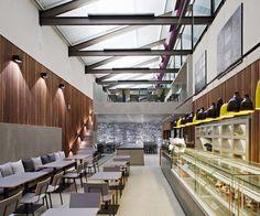 Emporio Baglione restaurant by Rocco & Vidal + Arquitetos, Sao Paulo
