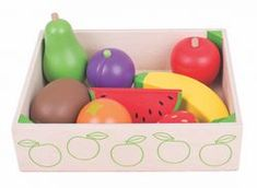 Bigjigs Wooden Fruit Crate (Play Food)
