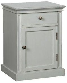 Grey Fayence Bedside table from Lover's lounge
