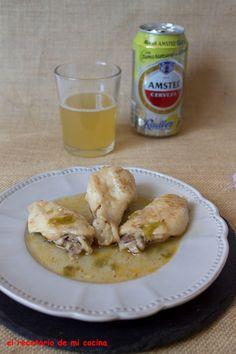 Pollo a la cerveza con limón | El recetario de mi cocina