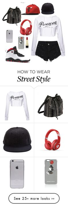"""Street style"" by alex-benatovich on Polyvore featuring Dolce&Gabbana, Beats by Dr. Dre and Markus Lupfer"