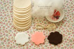 sew your own felt cookies set.