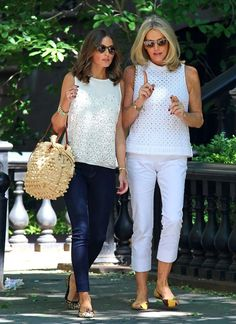 Olivia Palermo in our India Leopard Ponyhair ballet flats