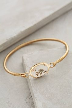 Storied Agate Bangle - anthropologie.com