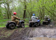 Chester Quad Biking Trek Hen Party Idea #Chester #Henparty