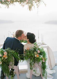Intimate Weddings in Santorini Santorini Wedding Venue, Wedding Reception, Wedding Venues, Boho Wedding, Floral Wedding, Wedding Flowers, Intimate Weddings, Destination Wedding Photographer, Wedding Inspiration