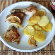 Kuřecí stehno na citronech recept - Vareni.cz