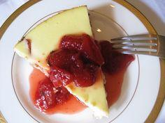 Strawberry Basil Cheesecake