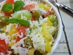 salade de riz / salade composee - Amour de cuisine