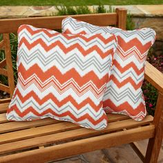 Tango Zazzle Square Corded Outdoor Pillows (Set of 2) | Overstock.com Shopping - Big Discounts on Outdoor Cushions & Pillows