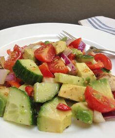 Quick to make salad, perfect for part of a whole 30 lunch.