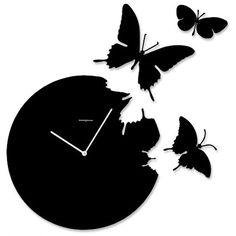 BUTTERFLY - horloge ø 48 cm