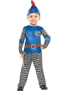 Toddler Boys Mike the Knight Costume - Party City