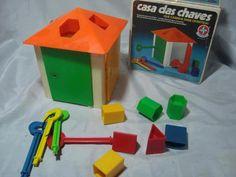 Casa das Chaves - Brinquei muito