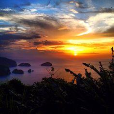 Trinidad ❤ beautiful sunset