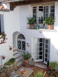 Spanish Colonial #Spanishstylehomes Mediterranean Style Homes, Spanish Style Homes, Mediterranean House Exterior, Spanish House Design, Spanish Revival, Spanish Exterior, Hacienda Style Homes, Spanish Colonial Homes, Dream Home Design