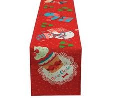 Bonvagon.com | Cushion Design Sofra | Christmas Cupcake Runner
