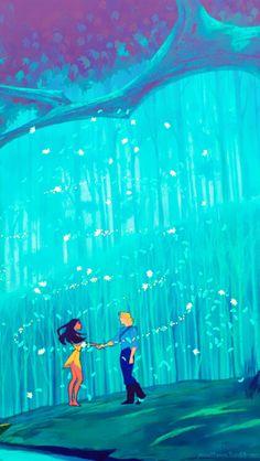 Pocahontas IPhone Background