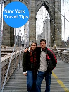Walk the Brooklyn Bridge - New York City travel tips: http://www.ytravelblog.com/new-york-city-travel-tips-by-travelers/