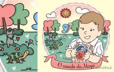 O mundo da Maya e uma Carinha no jardim • Carinhas
