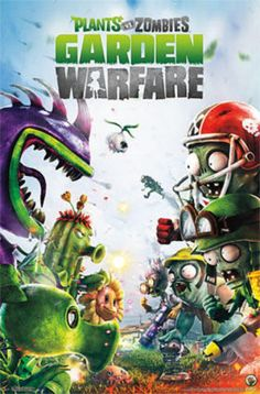 Plants vs. Zombies Garden Warfare Poster