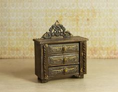 Hey, I found this really awesome Etsy listing at https://www.etsy.com/listing/555652448/miniature-chest-of-drawers-112-dollhouse