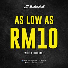 Royal Sporting House Babolat Clearance Sale As Low As RM10 Fashion Sale, Clearance Sale, Sports, House, Hs Sports, Home, Sport, Homes, Houses