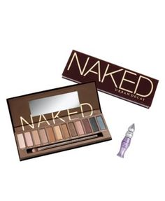 Urban Decay Naked Palette - This palette is sooo convienient. It is so versitile. Yes, it's pricey, but, in my opinion, it's worth it. I usually wear Sin across my lid, and either Toasted, Buck or Smog in my crease. Looks soo pretty!! - $50