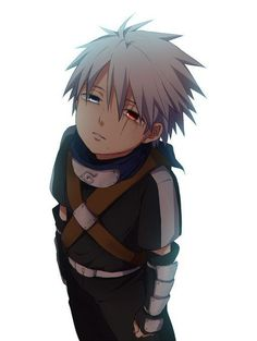 Little Kakashi Hatake unmasked 😍❤️ Today, September is his birthday 😍❤️❤️❤️