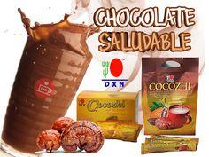 ¡¡LA SPIRULINA  CONTIENE 3 VECES MAS EL VALOR PROTEÍNICO QUE LA CARNE!!: (COCOZHI)  CHOCOLATE Y GANODERMA/  BEBIDA 100% ALC...