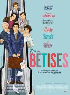 Les Bêtises de R. et A. Philippon (2015 Juillet). une comédie légère bien sympa…