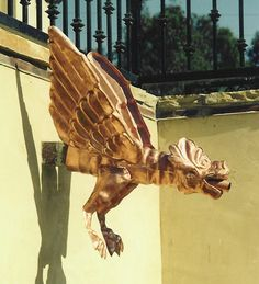 Rutland Gutter Supply In Orlando Copper Gargoyle Gutter