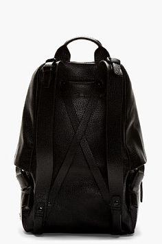 3.1 Phillip Lim Black Grained Leather 31 Hour Backpack for men   SSENSE ($1,250.00) - Svpply