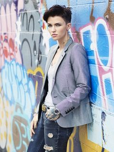 Photo of Ruby Rose from a photoshoot she did awhile ago
