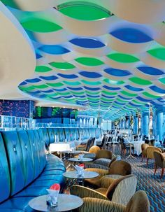 The Skyview Bar towers 650 feet above sea level (the cocktails don't hurt either). #Dubai