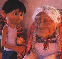 Mamá coco y Miguel