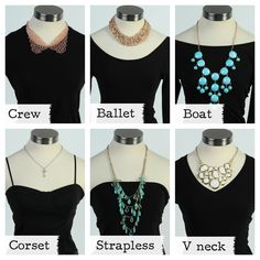 The Deb Shops #Necklace Guide #fashion