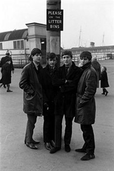 February 1963 The Beatles, Paul McCartney, Ringo Starr, John Lennon and George Harrison . (Photo by Michael Ward/Getty Images) Beatles One, Beatles Photos, John Lennon Beatles, Liverpool, The Fab Four, Album Releases, Ringo Starr, George Harrison, Lady And Gentlemen