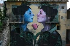 Soul for Sale - By Bosoletti in Bonito, Italy - Street Art Utopia Urbane Kunst, Art Rules, Amazing Street Art, Amazing Art, Italian Artist, Street Art Graffiti, Mural Art, Chalk Art, Land Art