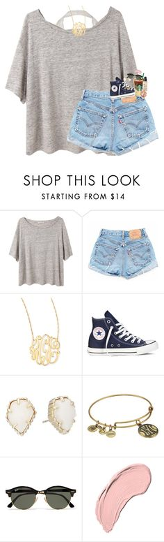 """spamming drafts later "" by classynsouthern ❤ liked on Polyvore featuring Acne Studios, Jennifer Zeuner, Converse, Kendra Scott, Alex and Ani, Ray-Ban, NYX, NARS Cosmetics and Stila"