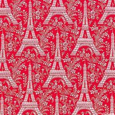 La Tour Eiffel - Cherry Red