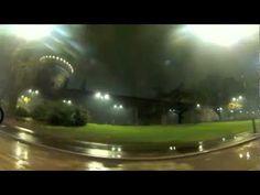 Milano Castello Sforzesco con neve 19.1.13 (webcam)