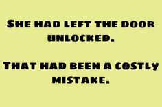 A Costly Mistake