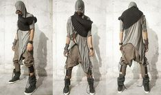 BIO INDUSTRIAL (by Demo .) http://lookbook.nu/look/4765059-Demobaza-Shawl-Easy-Rib-Cardigan-Monk-Channels