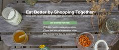Wholeshare ~ Buy As Group Online & Save BIG (Part Farmers' Market, Part General Grocery)