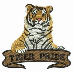 Wild Tigers 7 - 2 Sizes! | What's New | Machine Embroidery Designs | SWAKembroidery.com Ace Points Embroidery