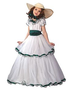 Click Image Above To Buy: White Southern Belle Costume - Kids Costumes Hallowen Costume, Halloween Costumes For Girls, Girl Costumes, Costume Ideas, Belle Halloween, Halloween Ideas, Costumes Kids, Classy Halloween, Costume Craze