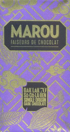 Using a blend of fine flavour cocoa from the highland district of Dak Lak province in Vietnam. This single origin dark chocolate offers spicy notes with an earthy base and a long finish. Made from bean to bar in Vietnam.